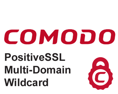 Comodo PositiveSSL Multi-Domain Wildcard